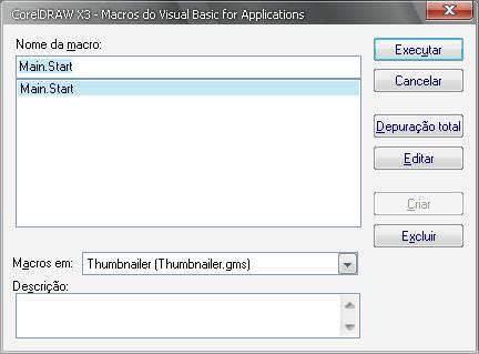 Thumnailer for Corel Draw