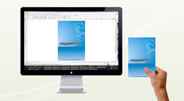 coreldraw - visualizando em escala real