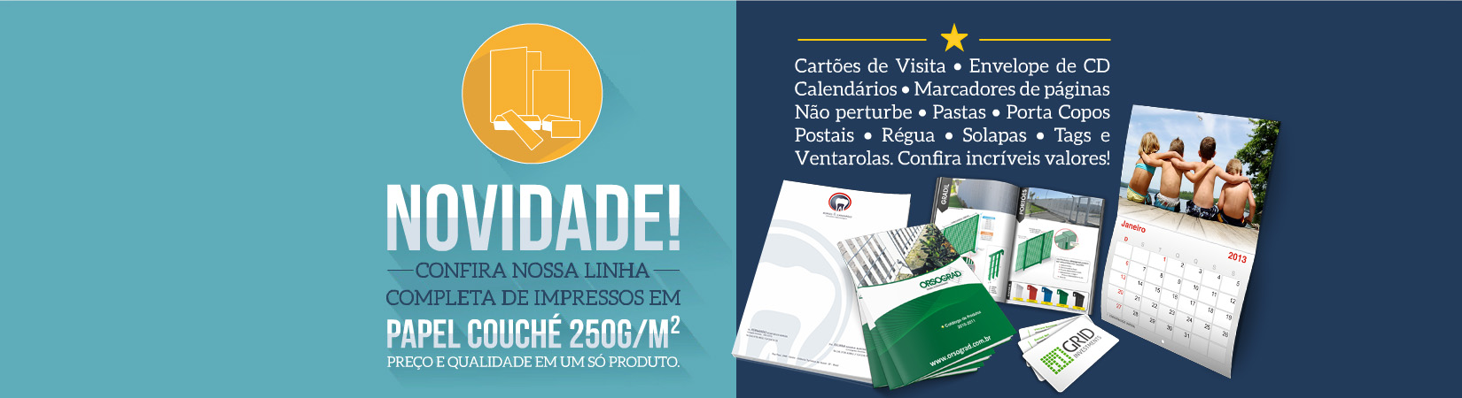 Slider - Cartões de Visita, São Paulo, SP