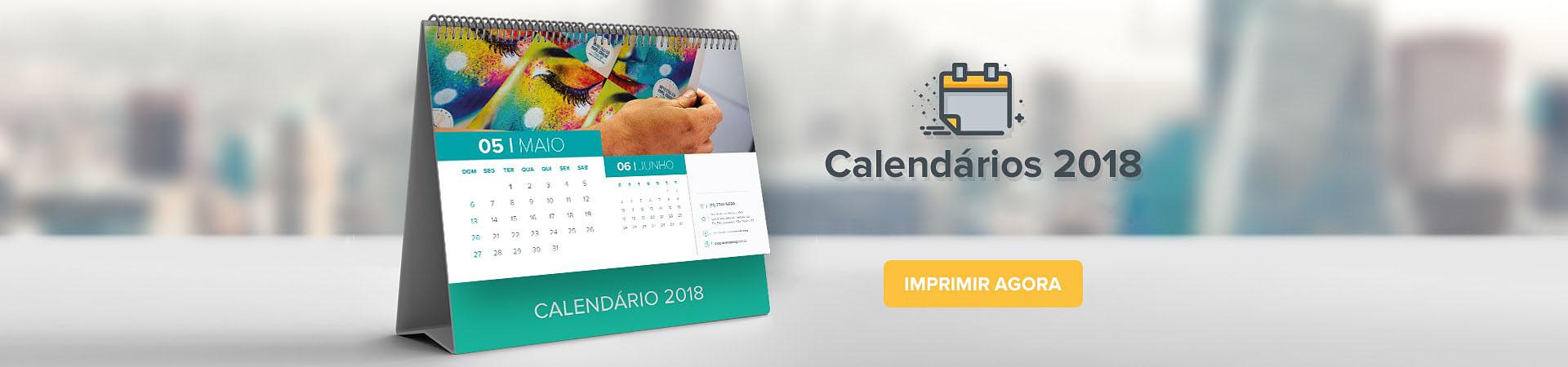 calendarios brindes adapt 2018